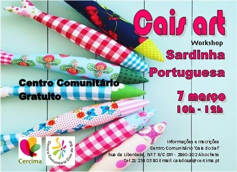 Cais Arte - Workshop Sardinha Portuguesa