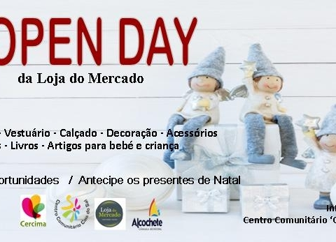 OPEN DAY  Loja do Mercado 2019