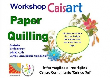 Workshop Caisart: Paper Quilling
