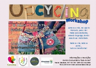 Workshop UPCYCLING - Malas Personalizadas